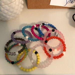 10 Lokai bracelets